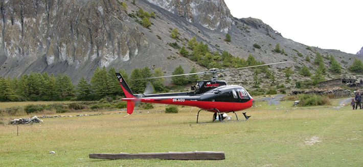 Helicopter Flights in Nepal
