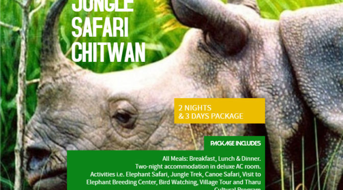 Chitwan Jungle Safari Tour - 3 Days & 2 Nights Package