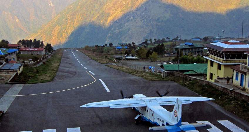 Kathmandu to Lukla Flight Ticket Booking Online for special fare